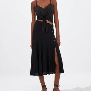 2/$30 Worn Once! Zara Midi Skirt